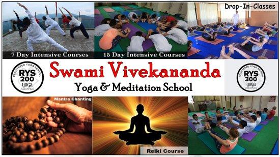 Swami Vivekananda Yoga & Reiki school Rishikesh