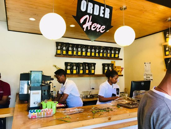Boles, AR: Best Coffee shop in  Addis, barista's  Coffee shop is celebrating its one year anniversary !