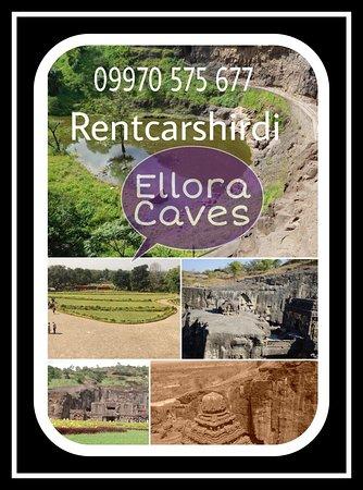 Rent Car Shirdi to Ellora Caves, Shirdi Airport