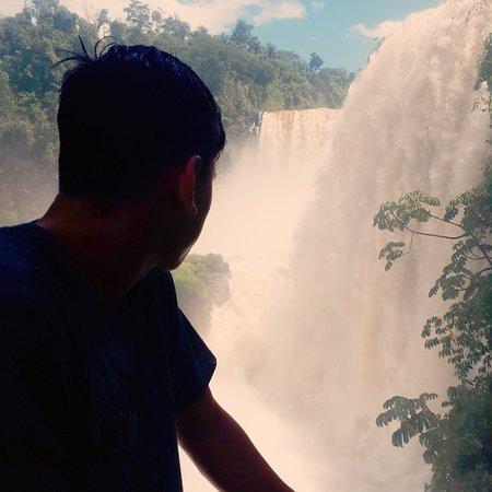 Saltos del Monday: Primera vez que voy. En realidad es muy lindo el lugar, espectacular las cascadas.
