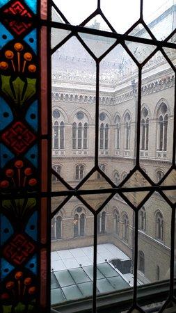 Hungarian Parliament Building: Витраж