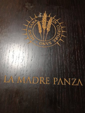 Santa Maria delle Mole, Италия: Copertina menù