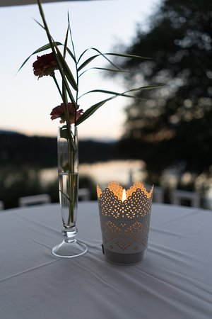 Feldkirchen, Austria: Abend am Terrasse