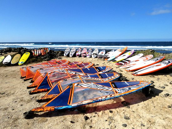 Windsurf Rental & School - OCEAN CALLING CENTER in El Medano - Tenerife