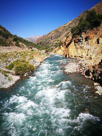 Maule Region, Chile: Baños del Médano.
