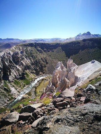 Maule Region, Chile: Mirador de monjes blancos.