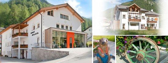Samnaun, Suisse : Hausansicht