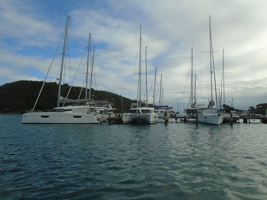 The Best of St Thomas Private Sightseeing Tour: The marina/fish market.