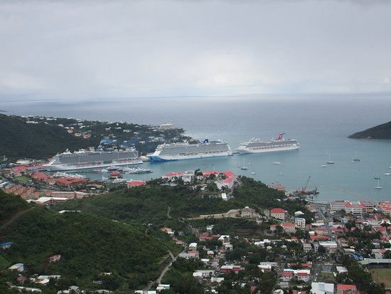 The Best of St Thomas Private Sightseeing Tour: View from up high!