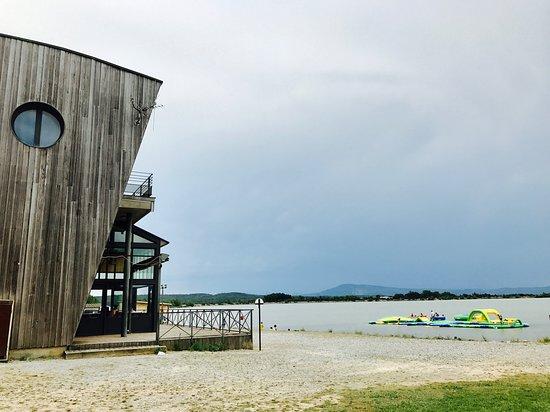 Homps, France: Lake Jouarrès