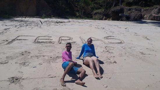 Carro Quebrado Beach: So alegria