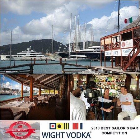 Falmouth, Antigua: Best sailors bar in the world
