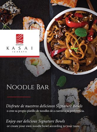 Enjoy our delicious Signature Bowl or create your own noodle bowl according to your taste.