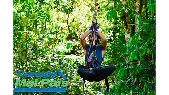 Mal Pais, Costa Rica: Yoga zipline  Qualified guides  Live the experience