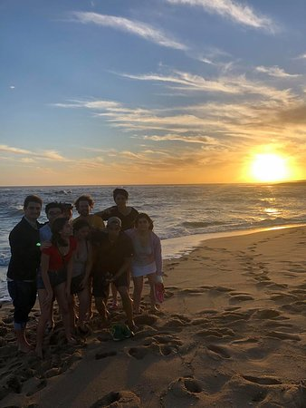 La Paloma, Uruguai: watching the sunset at the laguna de Rocha!