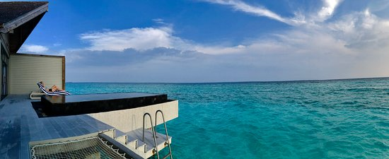 Noonu Atoll: Our room pool