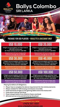 """ Sri Lanka Tourism Hub Provides Casino maximum gaming experience With Bally's ""  https://www.srilankatourismhub.com/casino/"