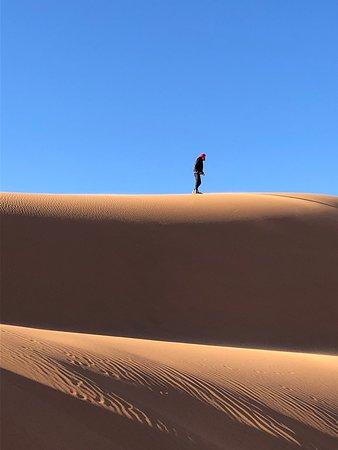 Mágico en el desierto
