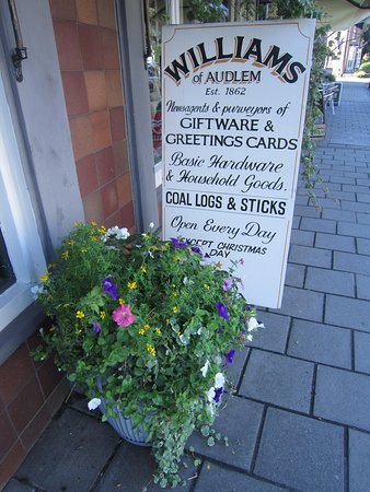Williams of Audlem Ltd: Open All Hours !...except Xmas Day,