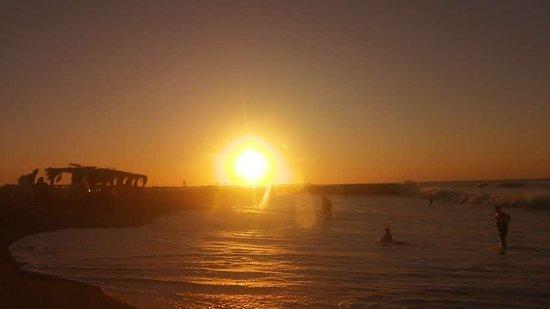 Atardecer desde la Playa de Popeye