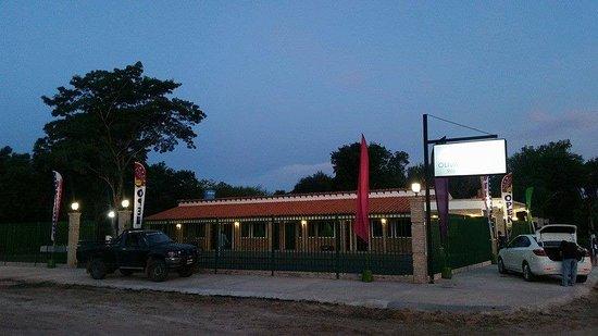 Villa Oliva, Парагвай: Hotel OLIVA INN HOTEL en sus comienzos.
