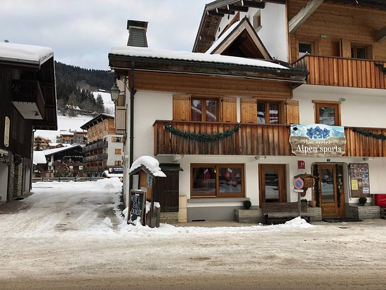Great hotel for a ski break