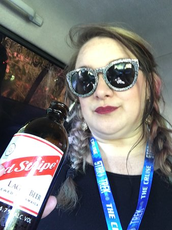 Rasstartours and Taxi Services : You have to have a Red Stripe, local beer is the best!