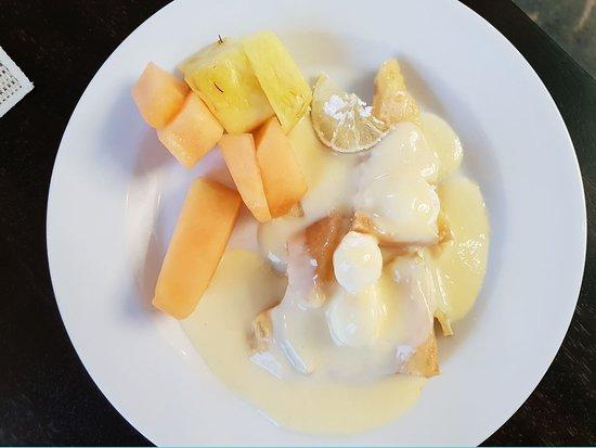 Sunday Brunch (2019.01.13.) - ananász, sárgadinnye, citrom, vanília szósz
