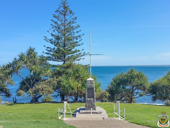 Kings Beach, Australia: Anzac Memorial along Caloundra Headland Memorial Walkway.