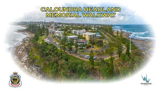 Kings Beach, Australia: The Caloundra Headland Memorial Walkway managed and maintained by the Caloundra RSL Sub Branch and Sunshine Coast Council.