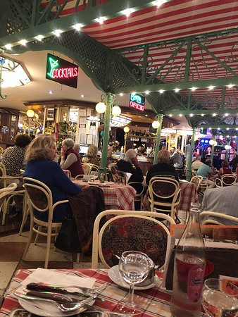 Delicious tasty food and live entertainment