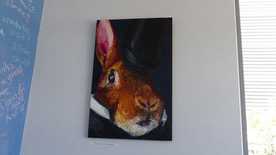 Aitken's Folly Vineyard: not the Bugs Bunny