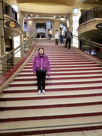 escaleras al teatro
