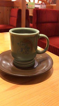 アメリカンコーヒー と C:名古屋名物おぐらあん 、プリンケーキ🍮 (2019/01/22) *プリンケーキは割高感ある。