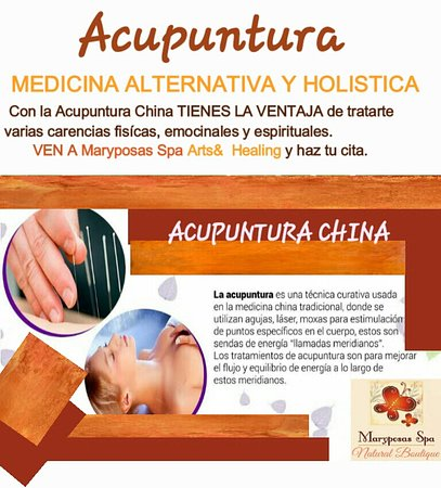 Acupuncture treats many ailments and helps mentally and emotionally. Ask about it and we will advise you