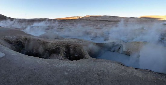 Andes Salt Expeditions Tour Operator: volcanic hotpools