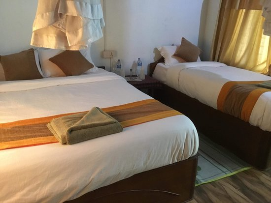 Bardia National Park, Νεπάλ: Deluxe Room with air condition