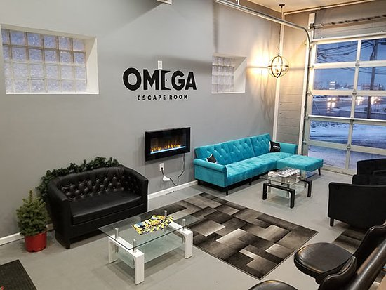 Hamburg, NY: Omega Escape Room Lobby