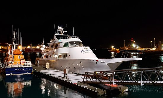 Croisière aux aurores boréales au départ de Reykjavik : the yacht