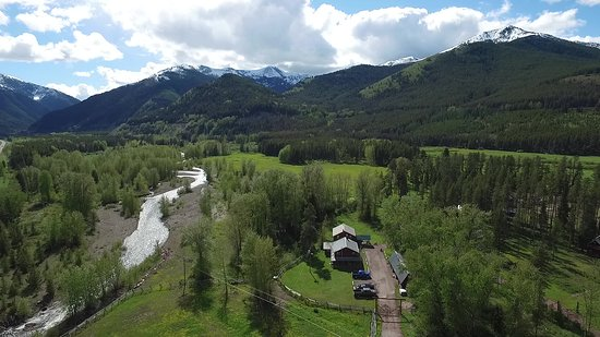 Essex, MT: Bear Creek Guest Ranch and Property