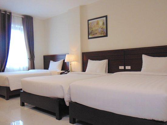 Deluxe Family Room – Bild von New Sun Hotel Ha Long, Bai Chay - Tripadvisor