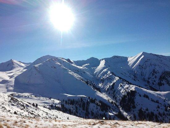 Kumbel Peak, Almaty. Details you can see in my tape instagram. Hiking, sights of Almaty.