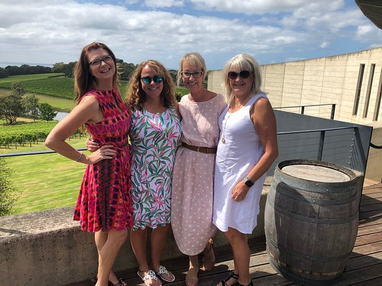 Great day hosting old friends Jo and Bronny at the amazing Port Phillip Estate.