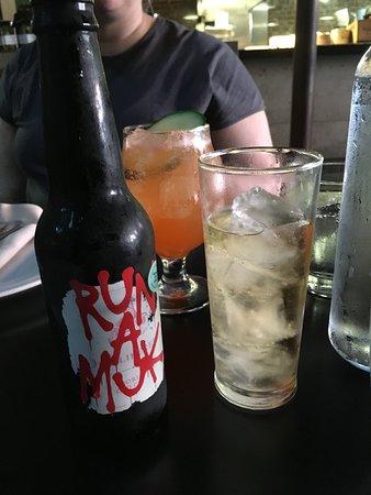 drinks, local cider