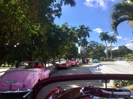 Like a 1950s parking lot.