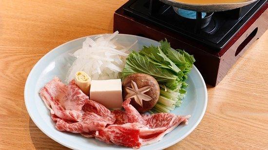 Uoman Gems Shinbashi: 黒毛和牛すき焼き