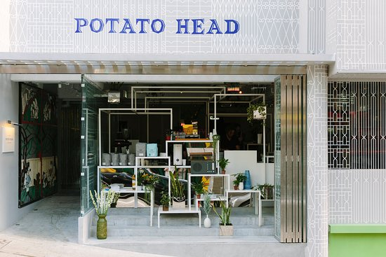 Best bar & restaurant in Hong Kong - Potato Head Hong Kong - Exterior