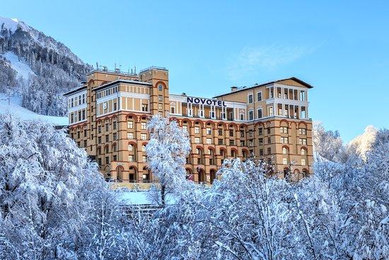 Самый высокогорный отель в Красной поляне - отзыв о Novotel ... e5b822b29ef