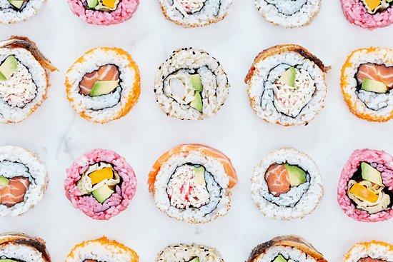 Stratford City, UK: Sushi, sashimi and more!