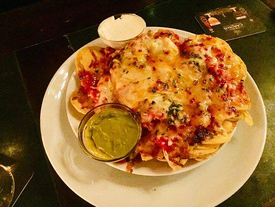 Vegetarian nachos! yum